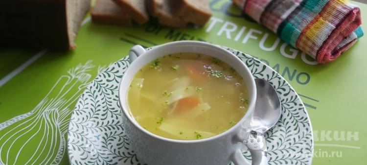 Куриный суп с лапшой лагман при гастрите