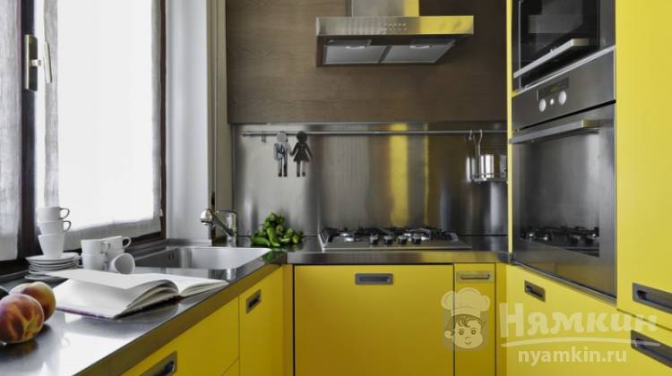 Цвета расширяющие пространство кухни