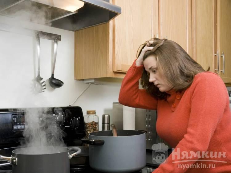 Как убрать запах из пригоревшего варенья
