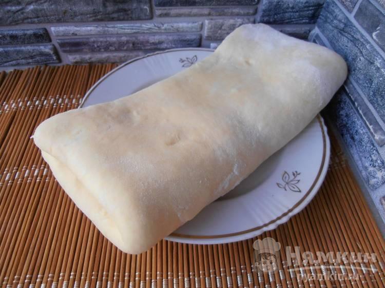 Слоеное тесто за 15 минут на молоке