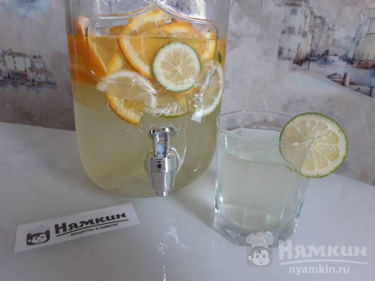 Цитрусовый лимонад в домашних условиях