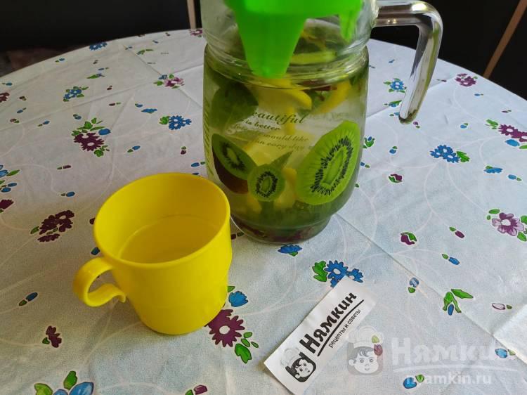 Освежающий напиток с лимоном и мятой
