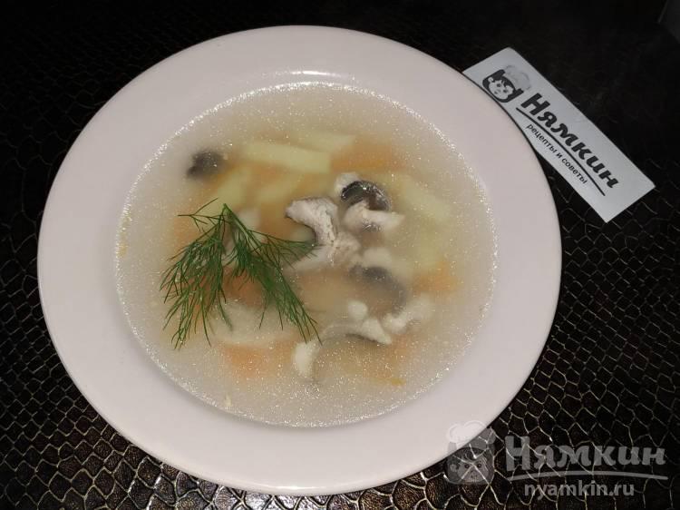 Суп из свежей сельди с картошкой