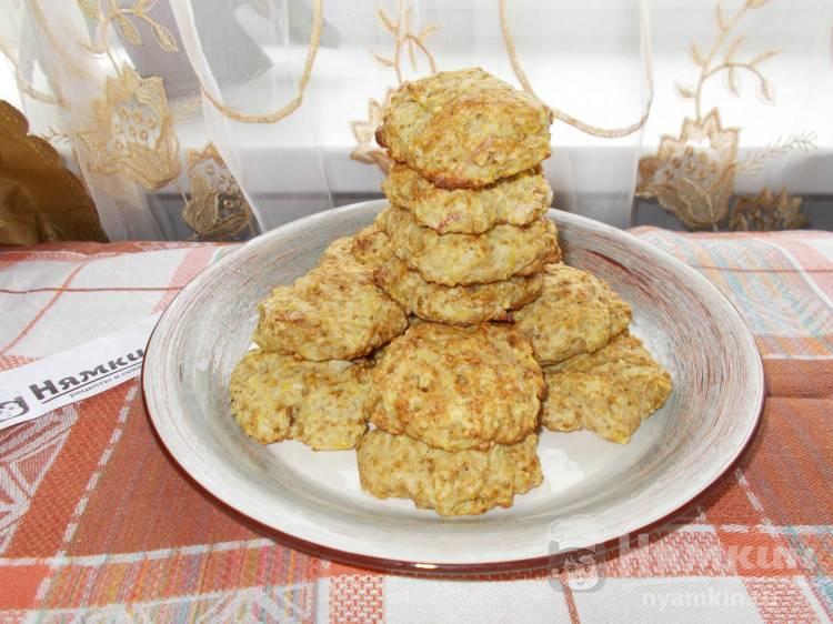 Мягкое домашнее печенье с яблоками