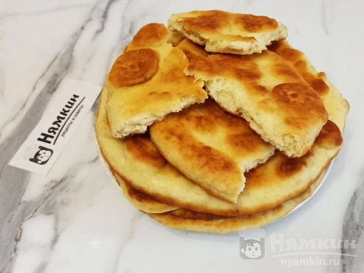 Татарские лепешки на молоке