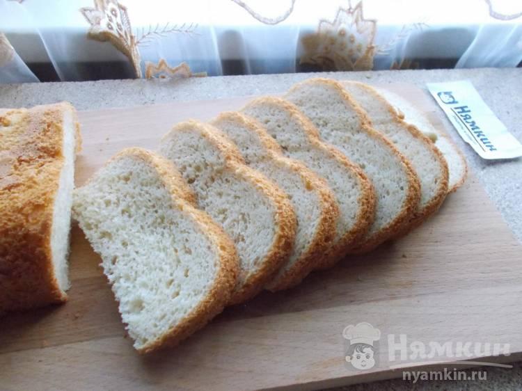 Молочный дрожжевой хлеб в хлебопечке