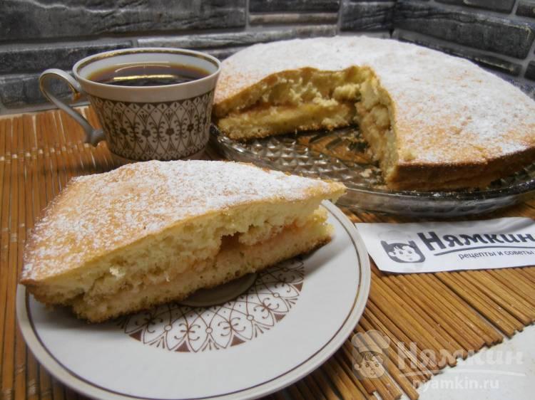 Торт Гусиные лапки с повидлом на скорую руку