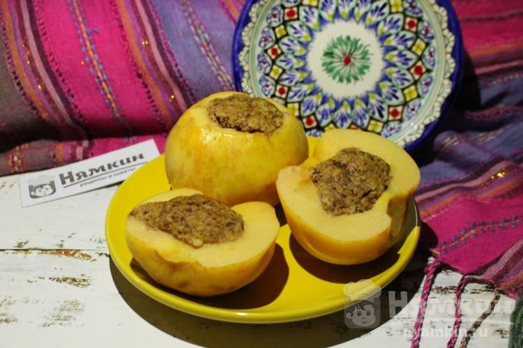 Айва с грецкими орехами и медом - Бехи дулма по-узбекски