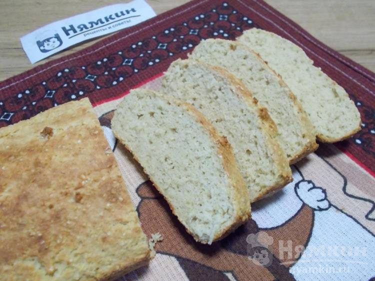 ПП хлеб с геркулесом и пшеничной клейковиной в духовке
