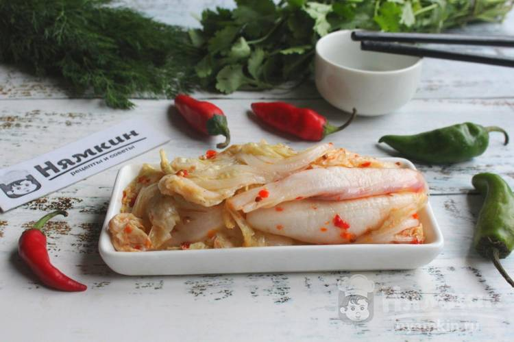 Чимчи из пекинской капусты по-корейски