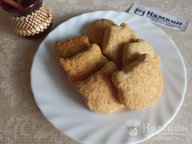 Воздушное печенье без яиц на маргарине в духовке