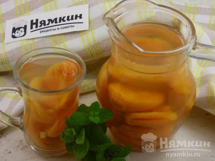 Напиток из кураги и имбиря: согревающий и витаминный