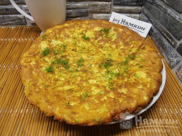 Картофельный блин на быстрый и вкусный перекус
