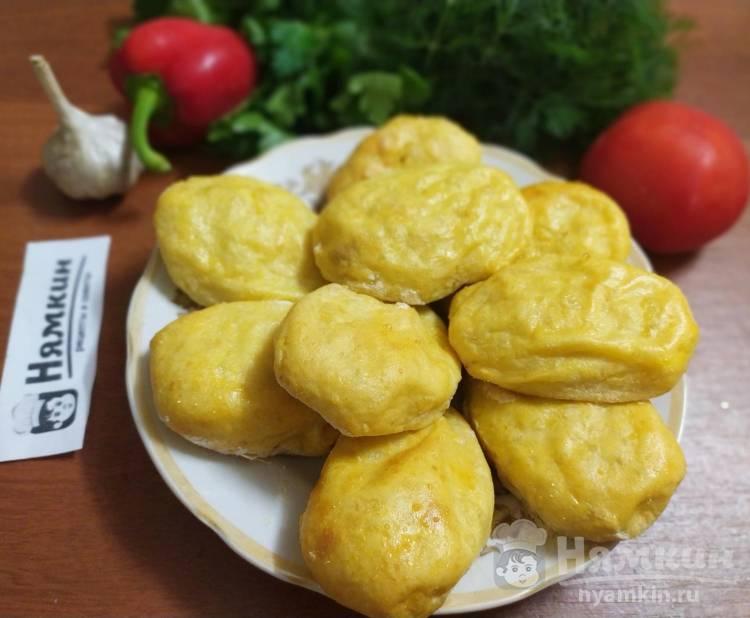 Картофельные зразы с куриным фаршем в духовке