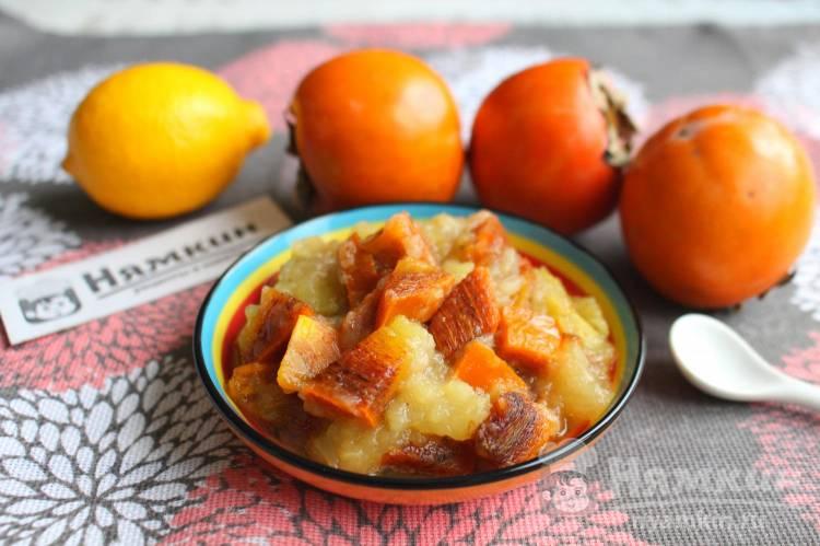 Варенье из хурмы и яблок: вкусное и полезное