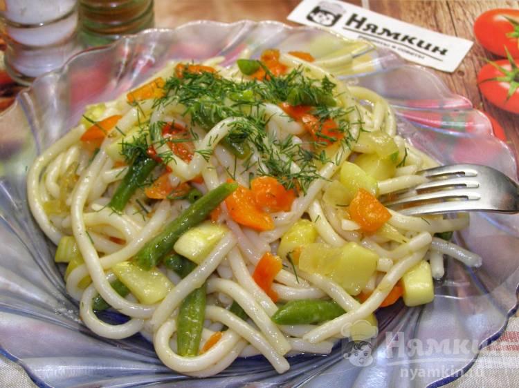 Паста с овощами Примавера по-итальянски