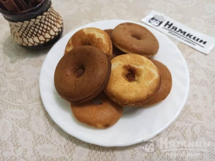 Пышные пончики на сметане в мультипекаре