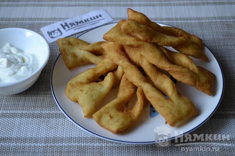 Картофельный хворост в домашних условиях