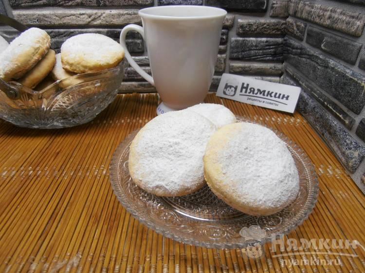 Печенье на молоке - быстрая выпечка к чаю