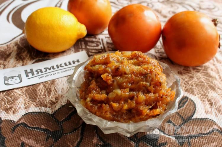 Джем из хурмы, яблок и тыквы: вкусный и полезный