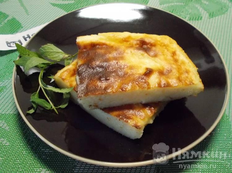 Галатопита - греческий сладкий пирог с манной крупой