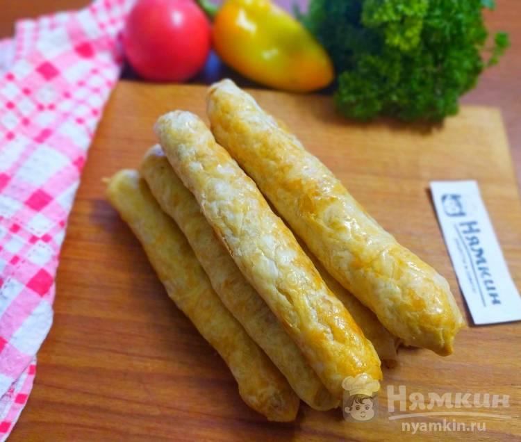 Молдавские вертуты с картошкой из тонкого вытяжного теста