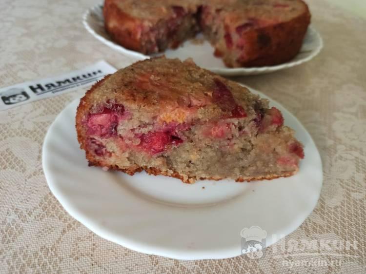Пирог с ягодами на маргарине в духовке: сочный и мягкий