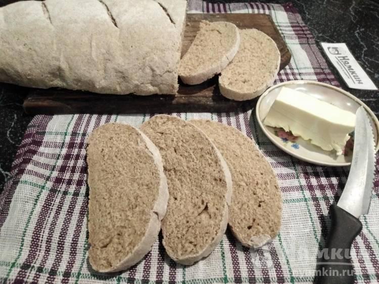 Литовский хлеб на молоке и сухих дрожжах