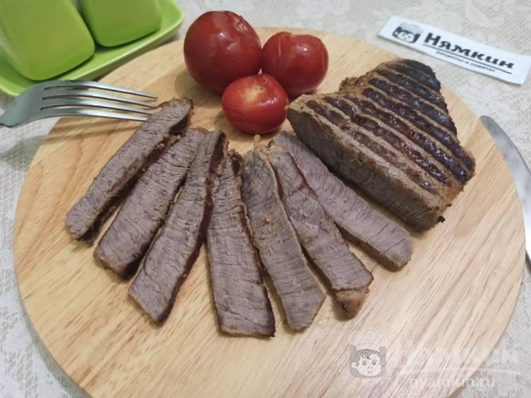 Мясная нарезка на праздничный стол из говядины в мультипекаре