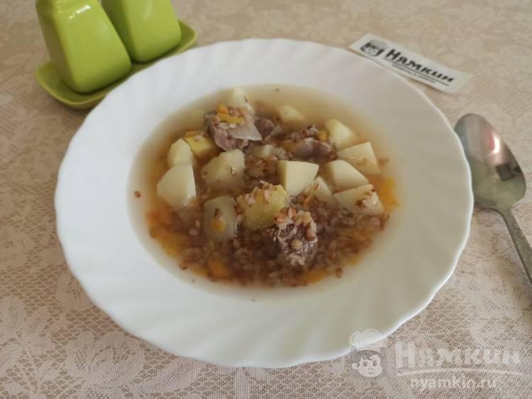 Суп из говядины с гречкой: легкий и питательный