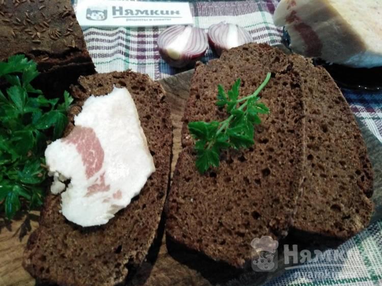 Бородинский хлеб по ГОСТу на закваске в духовке