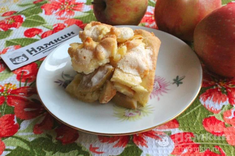 Вкусный яблочный пирог в духовке по-венгерски