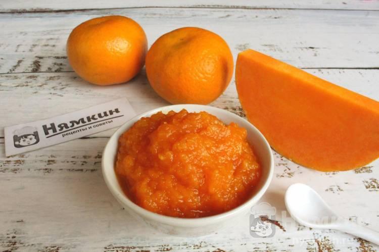 Джем из тыквы с мандаринами — яркий зимний десерт