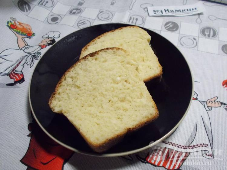 Сдобный творожный хлеб в духовке — сладкая выпечка к чаю