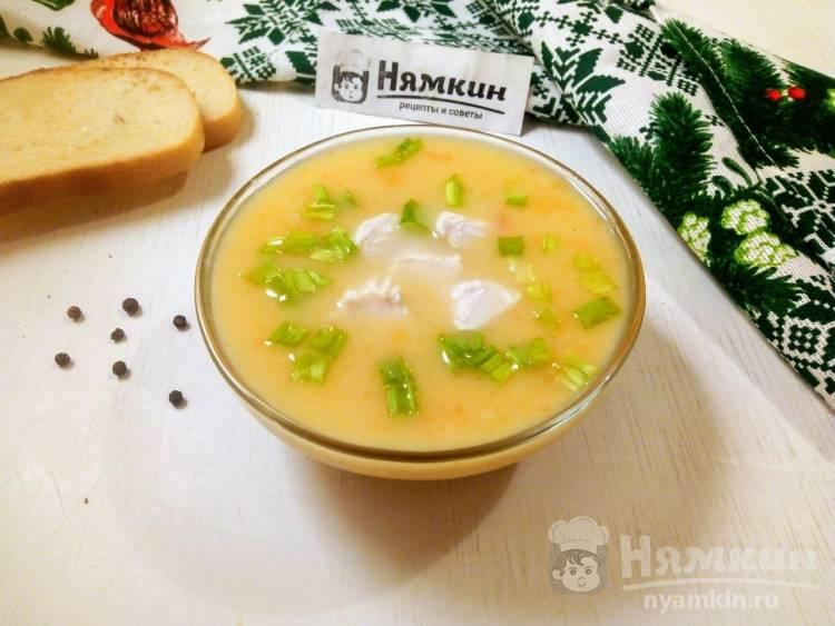 Крем-суп с куриным филе и овощами: легкий и согревающий