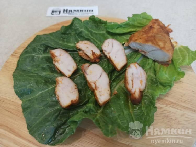Нежная куриная пастрома с паприкой в духовке