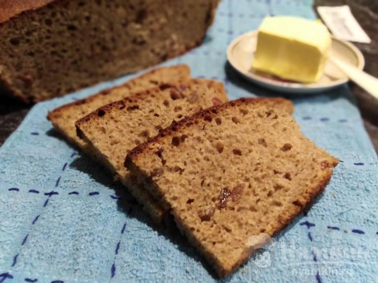Тирольский хлеб с изюмом в духовке