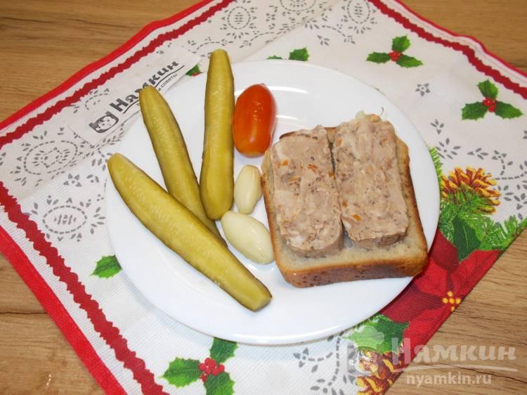 Сальтисон из свинины и кролика в домашних условиях
