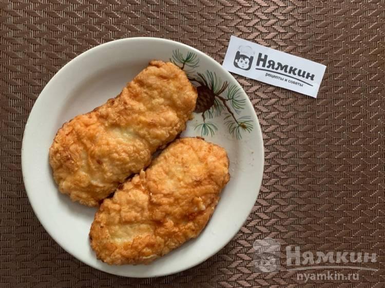 Отбивные из куриной грудки на сковороде: вкусные и сочные