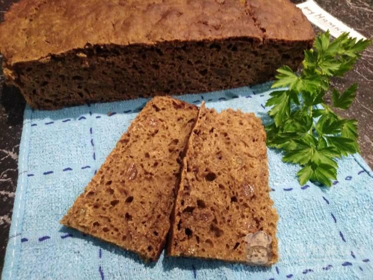 Карельский хлеб на закваске с изюмом в домашних условиях