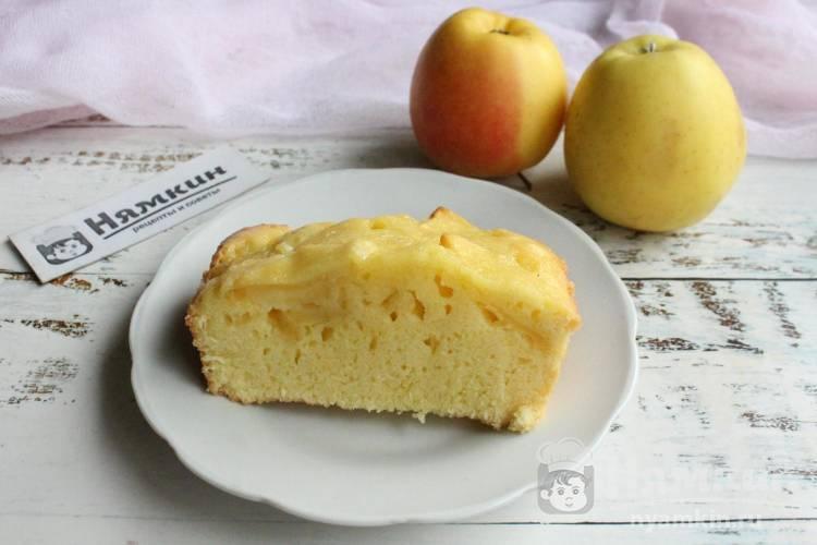 Заливной яблочный пирог Шарлатанка