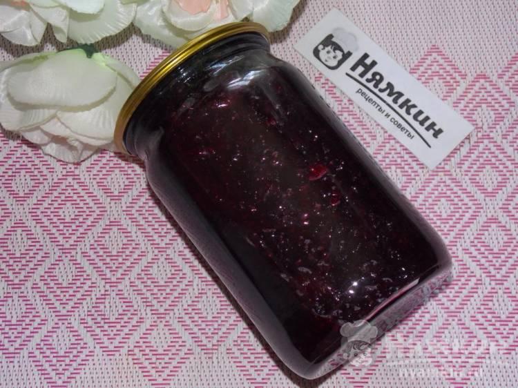 Варенье из замороженных ягод клубники с ежевикой в мультиварке