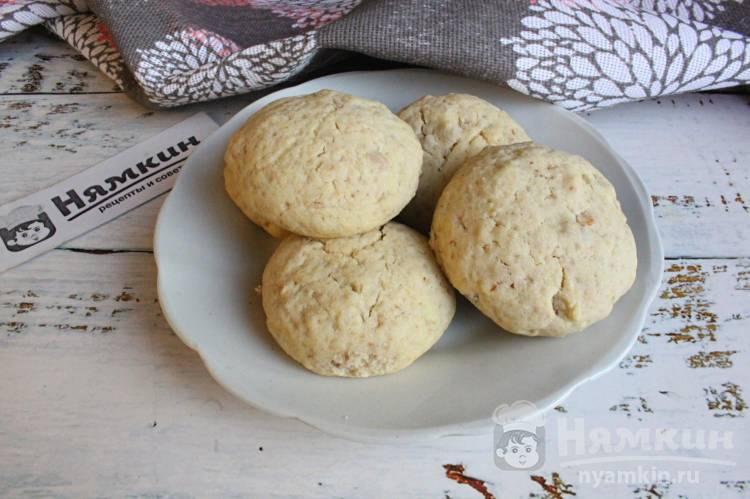 Ореховое печенье на рисовой муке — быстрая выпечка к чаю
