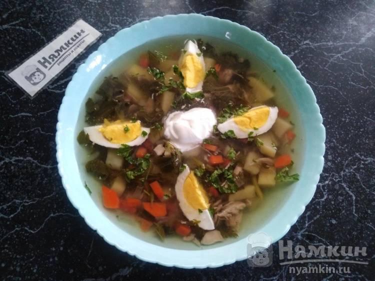 Nässelsoppa - шведский суп из крапивы
