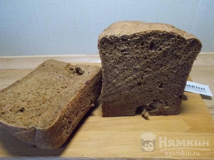 Хлеб с солодом и изюмом в хлебопечке