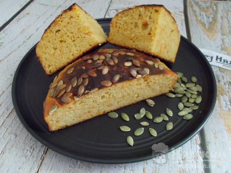Дрожжевой пирог с тыквой в духовке