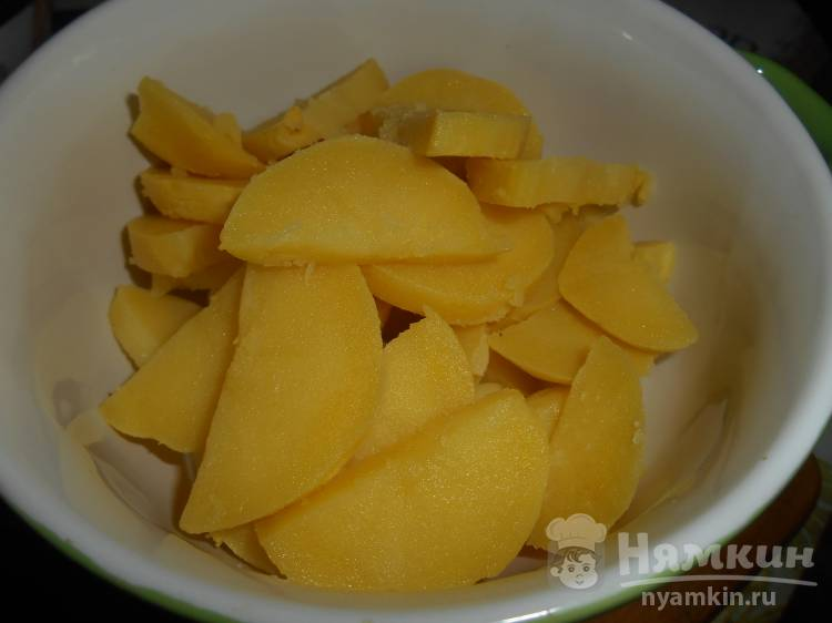 Картофельный салат за 5 минут - фото шаг 2