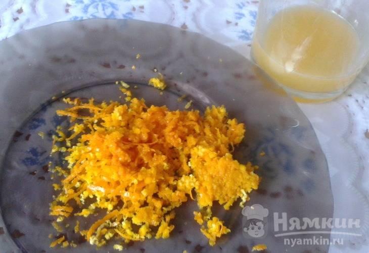 Сырники с апельсиновой цедрой и соком - фото шаг 1