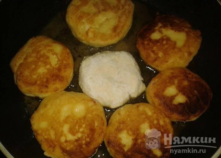 Сырники с апельсиновой цедрой и соком - фото шаг 3