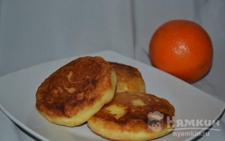 Сырники с апельсиновой цедрой и соком - фото шаг 4